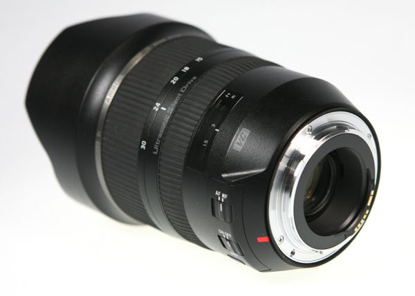 Tamron SP 11-30 mm f/2,8 Di VC USD