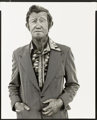 Richard Avedon, Carl Hoefert, unemployed black jack dealer, Reno, Nevada, August 30, 1983 © 2015 The Richard Avedon Foundation