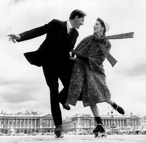 Richard Avedon, Suzy Parker and Robin Tattersall, Coat by Laroche, Palais-Royal, Paris, August 1957 © 2015 The Richard Avedon Foundation