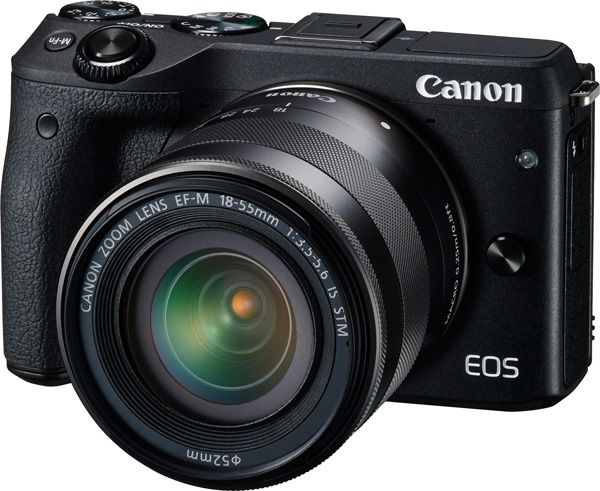 Canon EOS M3 test review