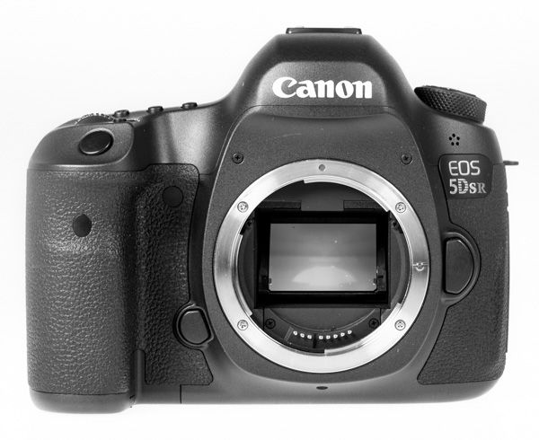 Canon 5DSR test review face sans optique