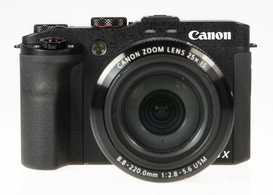 Canon G3X test review vue de face