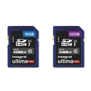 Cartes SD Integral Ultima Pro
