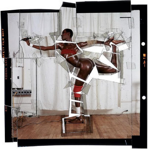 Grace Jones découpée par Jean Paul Goude