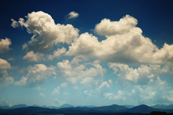 Exercice photo, le ciel et les nuages