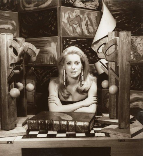 Man Ray - Catherine Deneuve