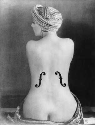 Man Ray - Le Violon d'Ingres