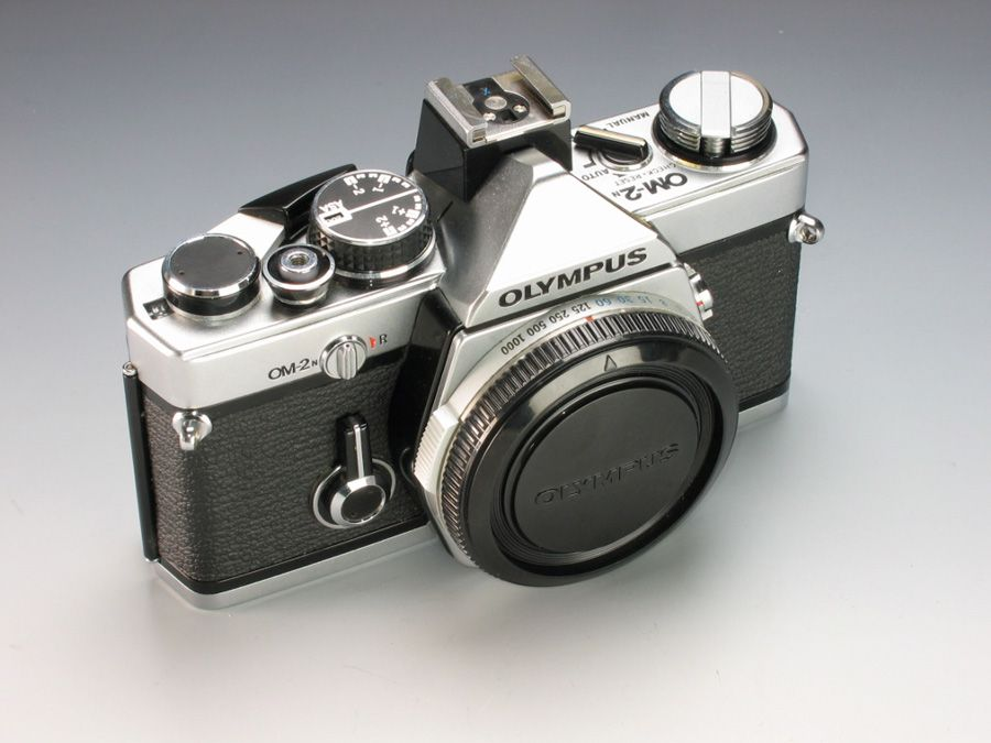 Olympus OM-2n argentique comme source d'inspiration