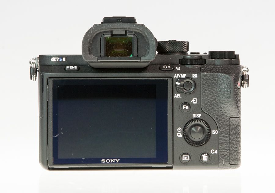 Sony A7S II (Alpha 7SM2) test review vue de dos