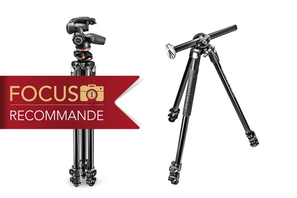 Test trépied Manfrotto 290 Dual MK290DUA3-3W