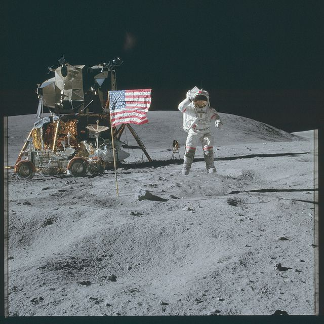 NASA, Missions Apollo, image d'archive