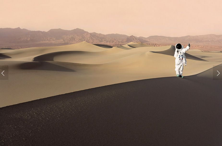 Julien Mauve, série Greetings from Mars, 2015