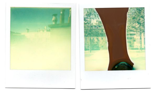 Test, Impossible Project, exemples Impossible couleur 600