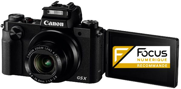 Canon G5 X test review recommandé