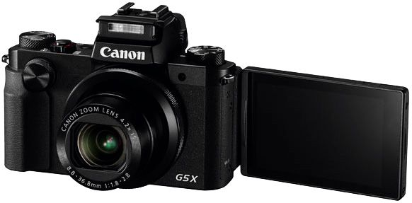 Canon G5X test review écran orientable