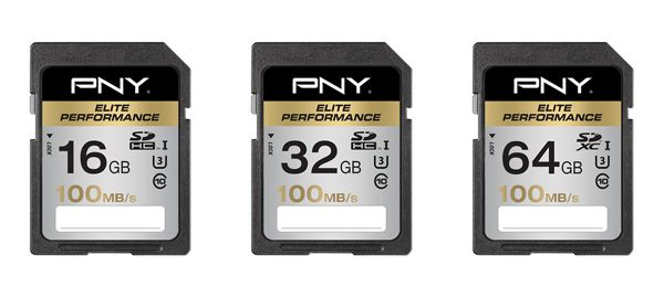 Test Cartes SD PNY Elite Performance UHS-I U3