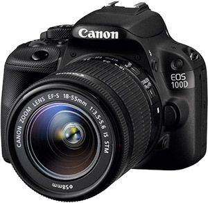 Canon 100D test review