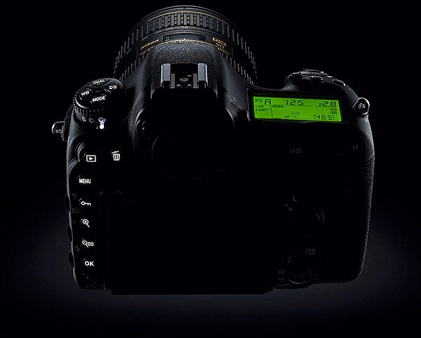 Nikon D500 test review commandes allumées