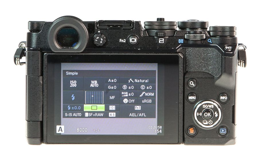 Olympus Pen F dos test review