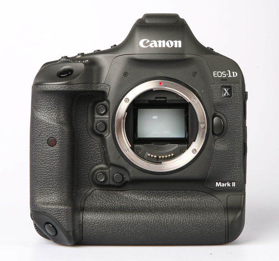Canon EOS 1D X Mark II (1DX 2), test review, vue de face sans objectif