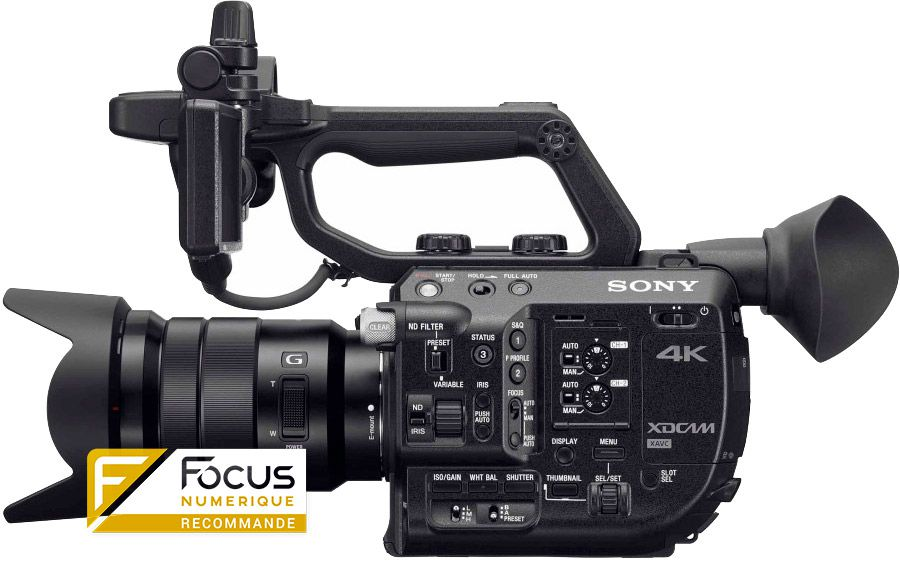 test sony fs5 cam scope focus num rique. Black Bedroom Furniture Sets. Home Design Ideas