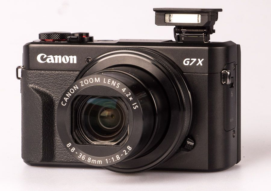 Canon G7 X Mark II test revie vue avec flash