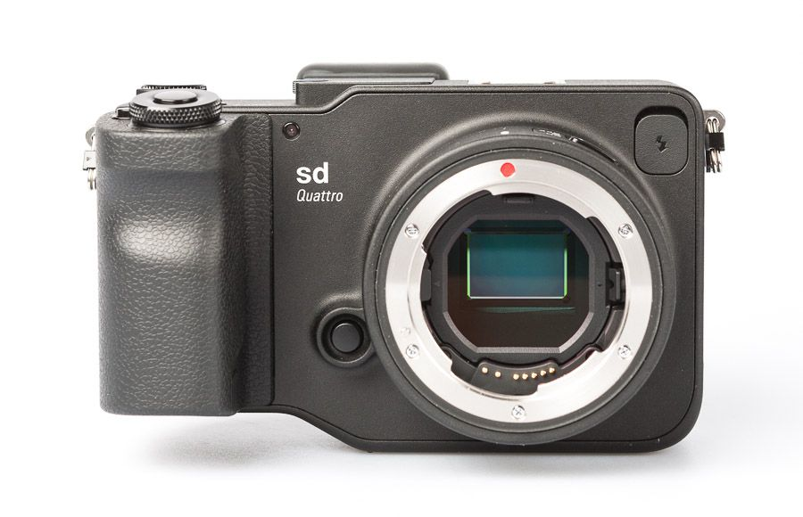 test sigma sd quattro hybride review vue de face capteur