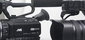 Caméscopes 4K JVC GY-HM200 et GY-LS300