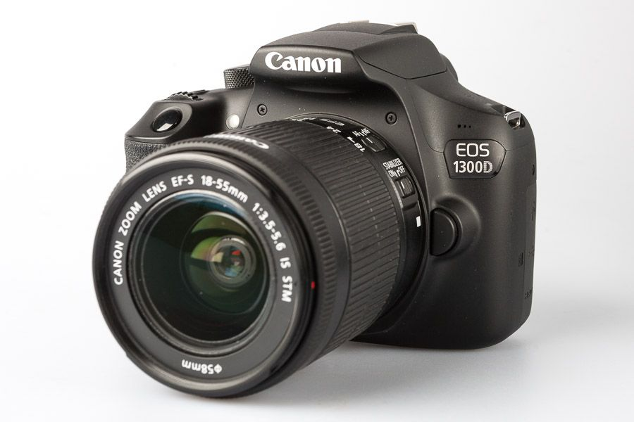 Canon 1300D reflex test review