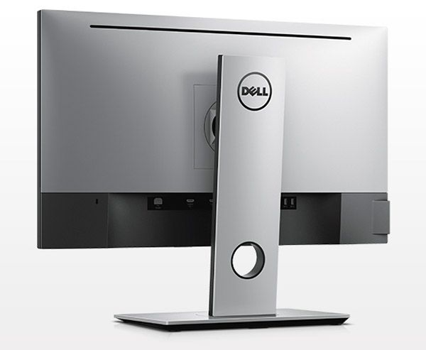 Dell UP2516D vue de dos