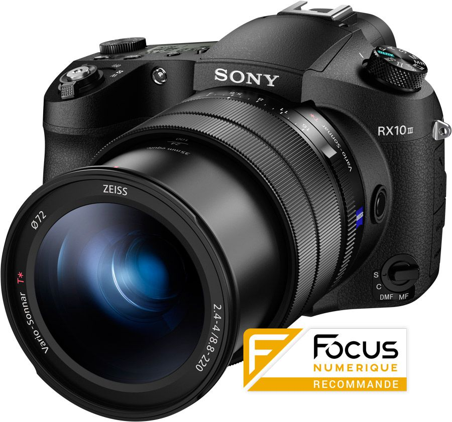 Sony RX10 III test review recommandé