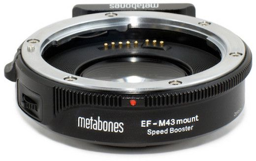 bague d'adaptation Metabones Speed Booster EF-M43 mount