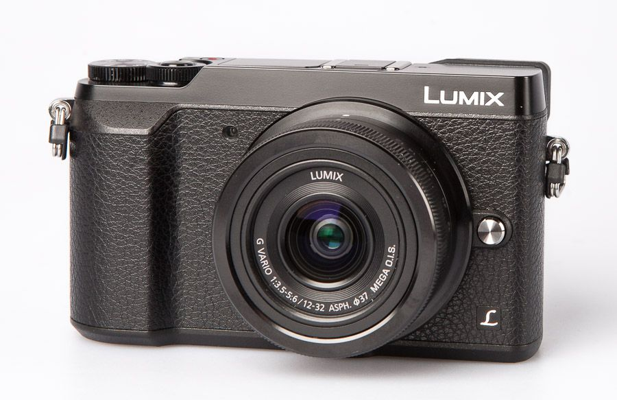 Panasonic GX80 hybride test review vue trois quart