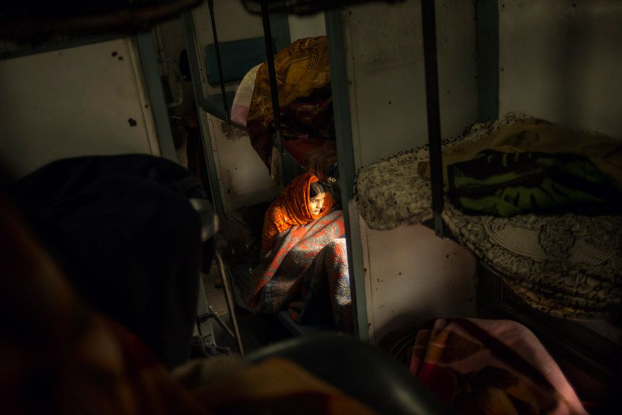 Tamina-Florentine Zuch, Indian Train Journey, prix Zeiss 2016 (Zeiss Photo Award)