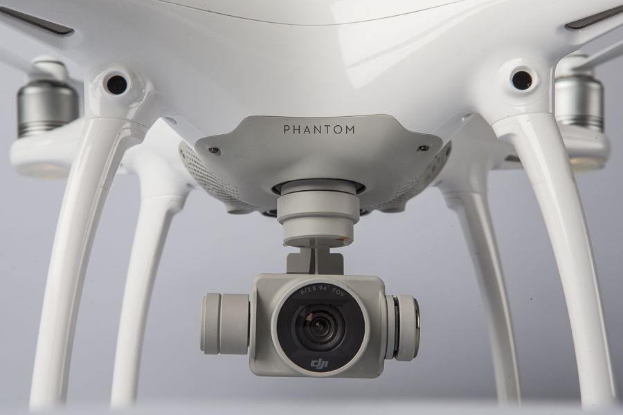 DJI Phantom 4 test review camera