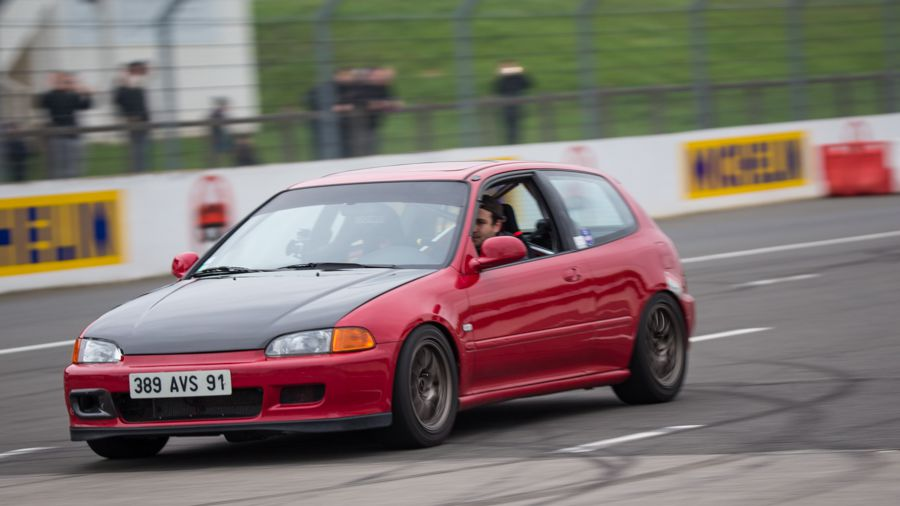 Tutoriel _photographier une course automobile_ honda civic
