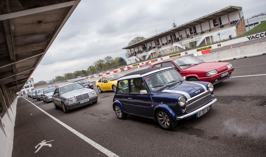 Tutoriel : photographier une course automobile mini cooper