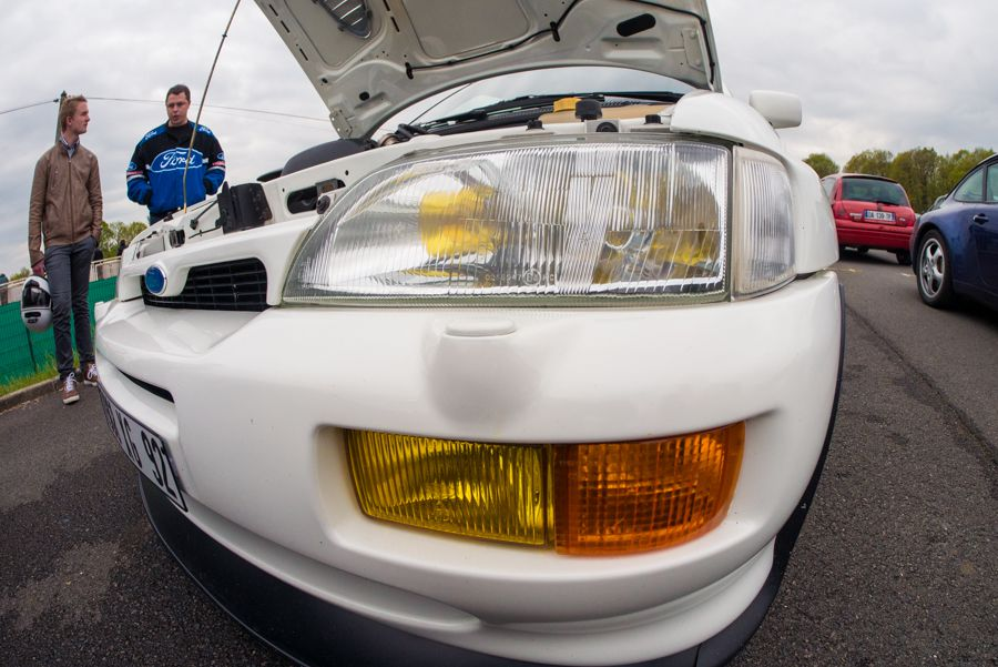 Tutoriel : photographier une course automobile escort cosworth