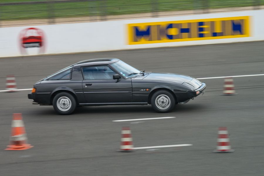 Tutoriel : photographier une course automobile mazda rx7