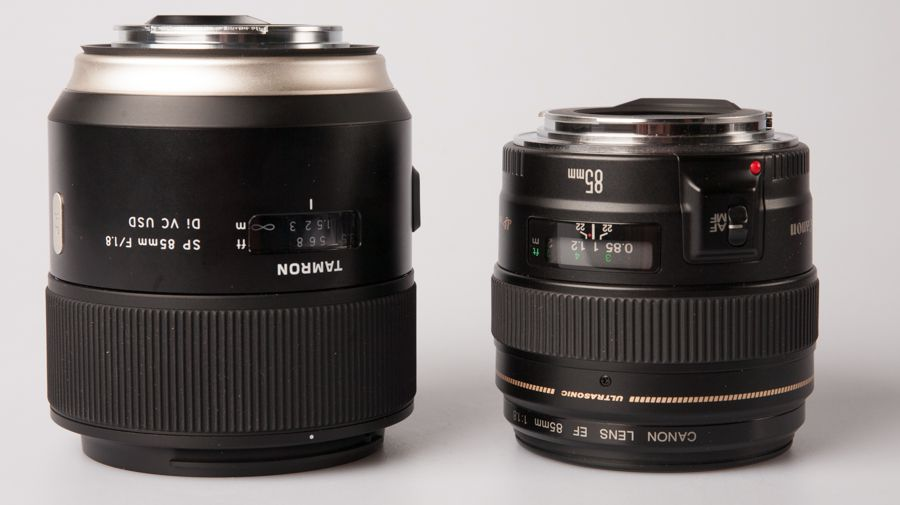 Duel - Tamron SP 85 mm f/1,8 Di VC USD Vs Canon EF 85 mm f/1,8 USM