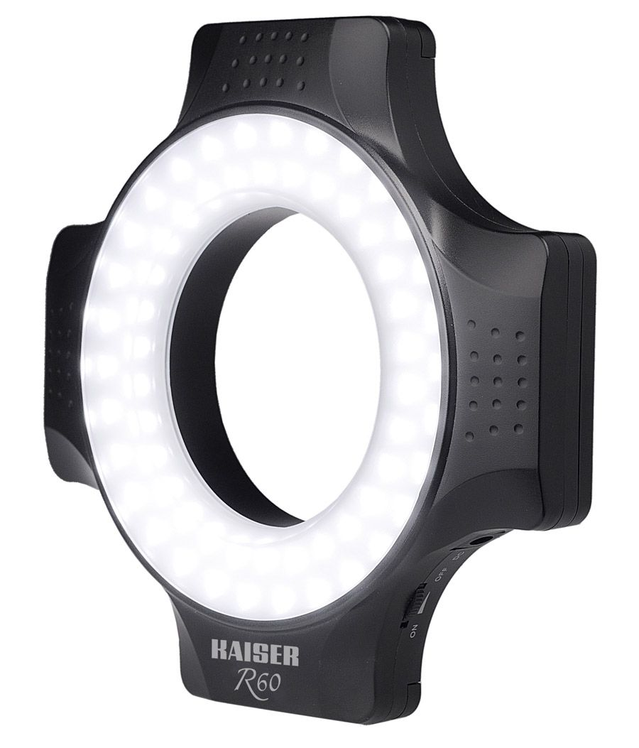 Test kaiser r60 éclairage led ring
