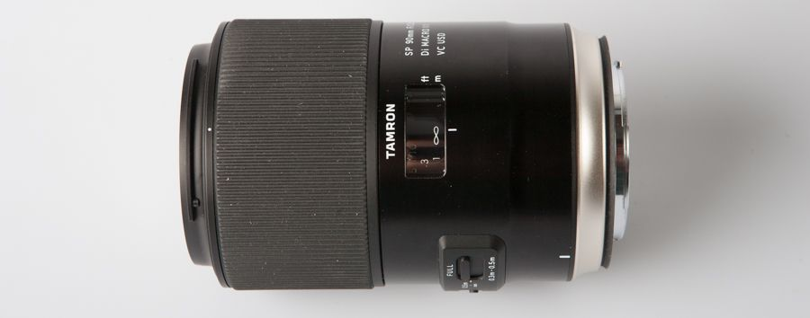 Tamron SP 90 mm f/2,8 Di Macro VC USD