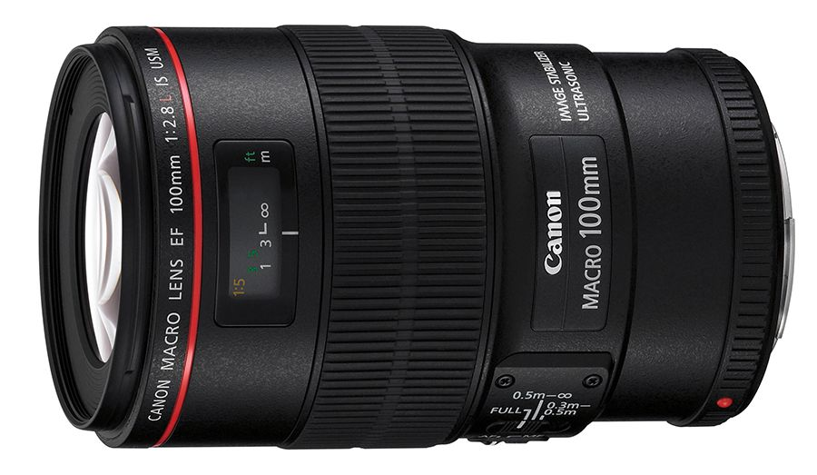 Canon EF 100 mm f/2,8 L Macro IS SUM