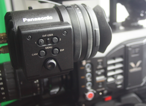 Test Panasonic Varicam LT review viseur
