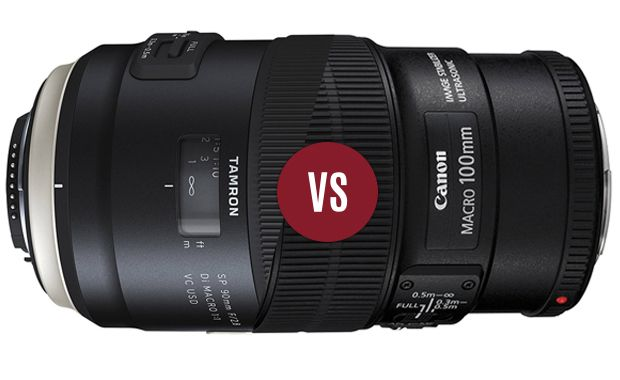 Duel - Tamron SP 90 f/2,8 Di VC USD vs Canon EF 100 f/2,8 L IS USM