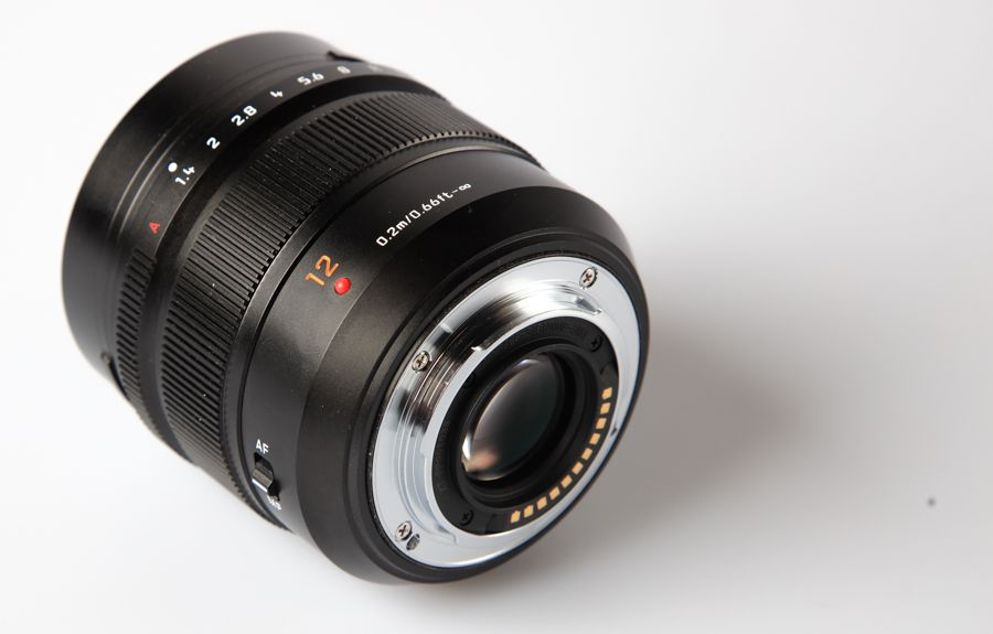 Panasonic Leica DG Summilux 12 mm f/1,4 ASPH