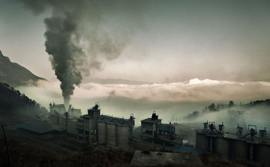 Exercice photo : paysages industriels (Jonathan Kos Read)