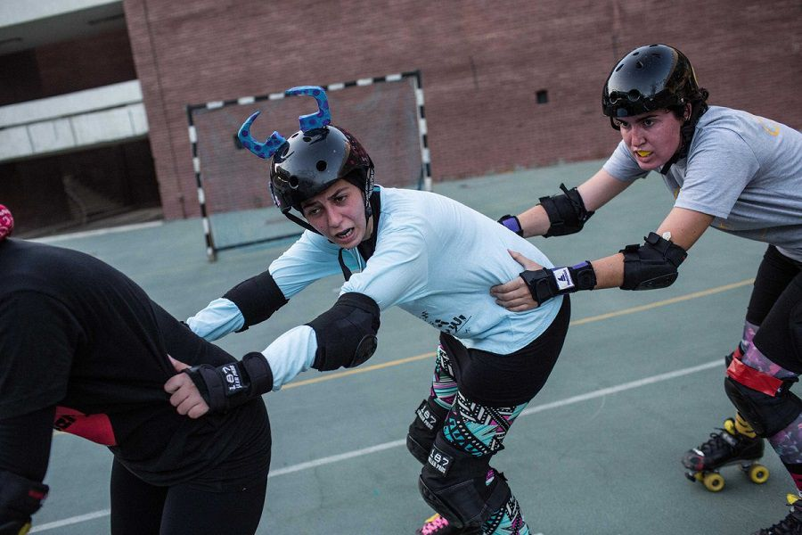 Photo Eman Helal, série Derby Girls