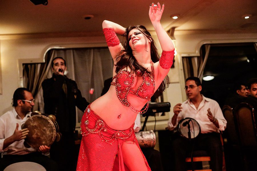 Photo Eman Helal, série Yes, I am a belly dancer