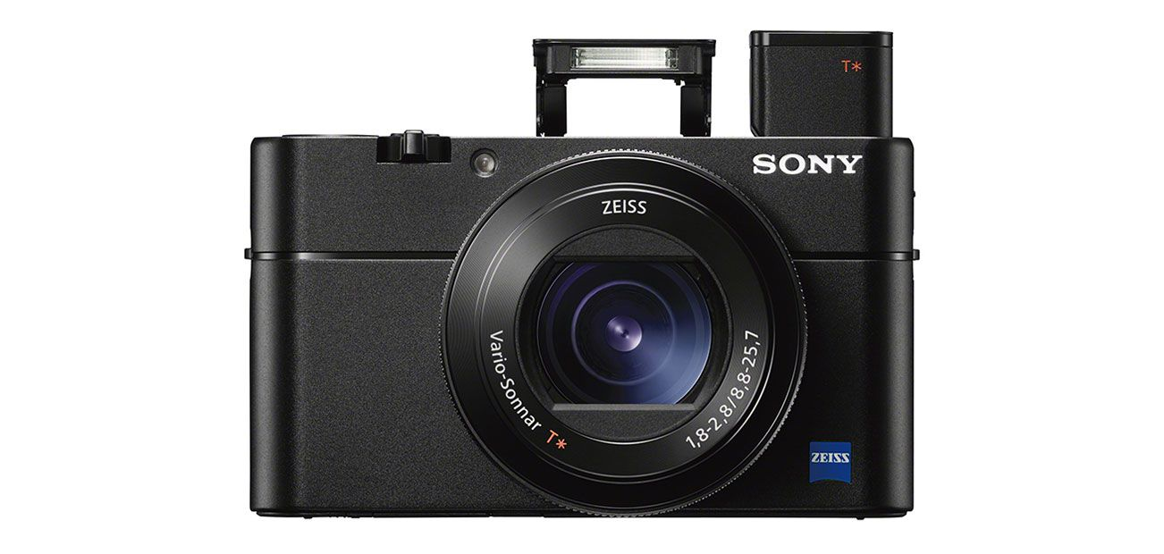 Sony Cybershot RX100 5, test review, vue de face